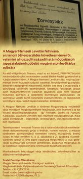 Felhívás - Magyar Nemzeti Levéltár (2016.05.06)