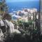 Látkép a Jardin Egzotic-ból nézve, Monaco