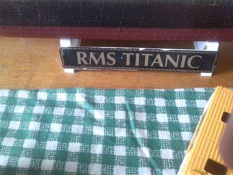 R.M.S. TITANIC makett (revell)