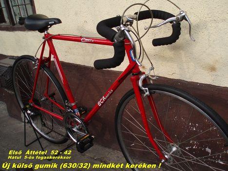 1 BCA félverseny kerékpár