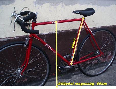 3 BCA félverseny kerékpár
