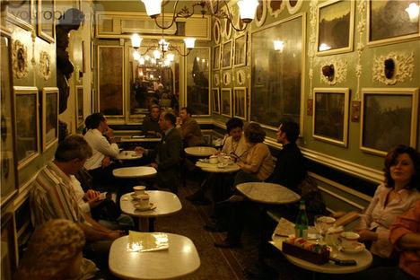 Caffe Greco belülről
