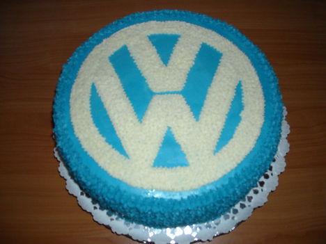 Wolksvagen jeles torta