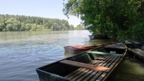 Bagaméri Duna-ág a Bagaméri mellékágrendszer főága, Ásványráró 2016. június 07.-én