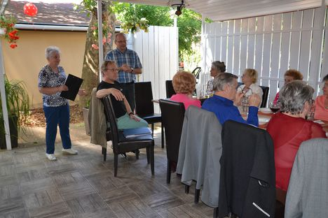 2016.jún.14. Kakukk vendéglői  dalos találkozó Újpesten.