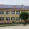 Gólyafészek és napkollektorok a Szent Márton Általános Iskola tetején, 2016. június 14.-én 1