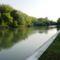 A Mosoni-Duna folyó Halászinál, 2016. június 24.-én 11