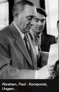 Ábrahám Pál 1956 körül Németországba visszatérésekor