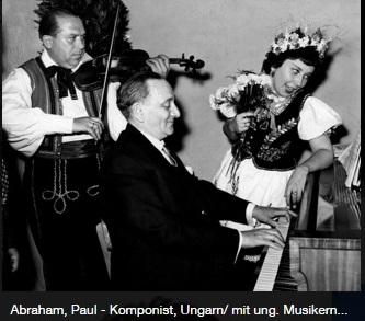 Ábrahám Pál Németországban 1956 körül