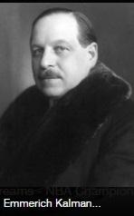 Kálmán Imre zeneszerző