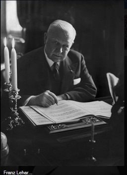 Lehár Ferenc zeneszerző, karmester