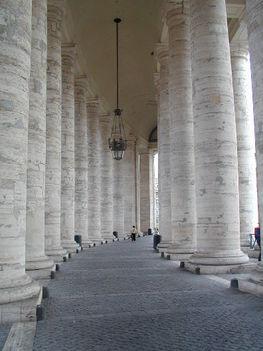 Bernini kolonnádjai - Vatikán