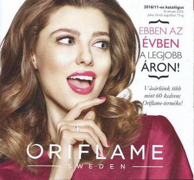 2016/11 Oriflame katalógus.