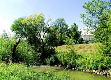 EDELÉNY Bódva-folyó és a L' Huillier - Coburg-kastély