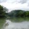 Nyárasi Duna-ág a  Burjáni bukó felvízi szakaszán, Püski 2016 július 14.-én 3