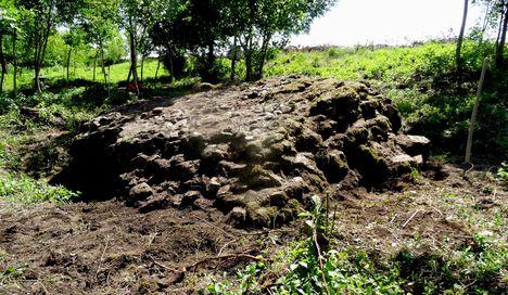 Tündérvár (római kori őrtorony a Mosoni-Duna jobb partján), Kunsziget 2016 július 20.-án 2