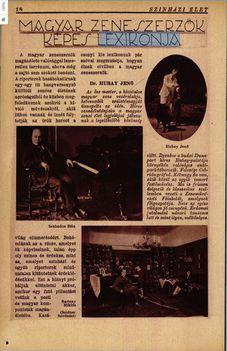 Zeneszerzők 1928-ban 1. oldal