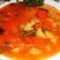 Zöldbab leves gazdagon