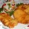 Mustáros,bundás csirkemell