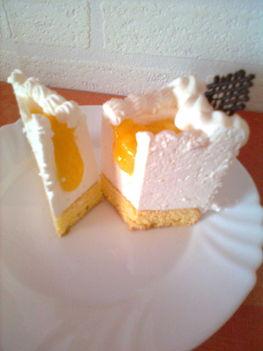Citromos Zila-tortaszelet