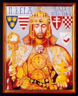 II. (Vak) Béla király