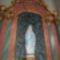 Lourdes-i Szűzanya szobra a Tihanyi Apátságban
