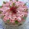 Sütés nélküli ribizlis torta