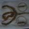 arany kásagyöngyből készült szett