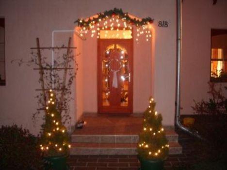 bejárati karácsonyi dísz