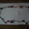 ezüstszálon piros-fehér tekla nyaklánc