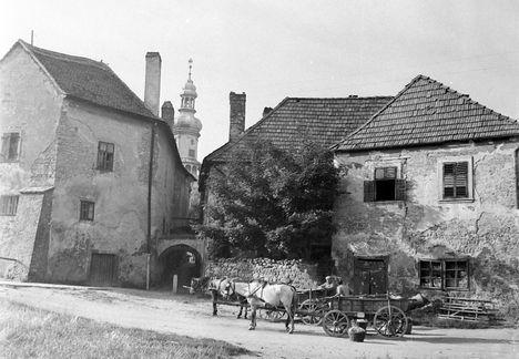 Festőköz Sopron 1944-körül