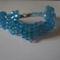 kék swarcki-kocka karkötő