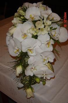 menyasszonyi csokor
