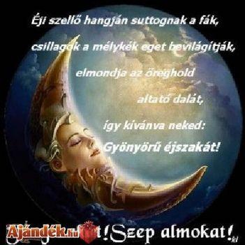 szép álmokat vers