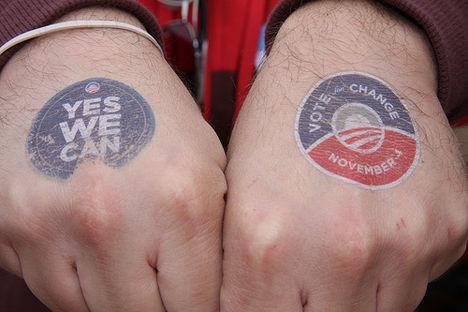 yes we can! - a kampány egyik fő mottója