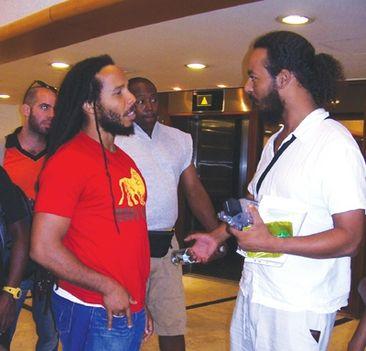 Ziggy Marley és Asher Elias