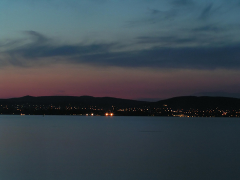 Balaton északi part, tihanyi mólóról 01