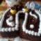 Eszterházy torta- patkóalakú