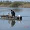 Horgász a vizen