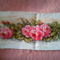 rózsa keresztszemeshímzéssel