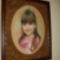Zsuzsi lányomról készült leszámolós tűgobelin.