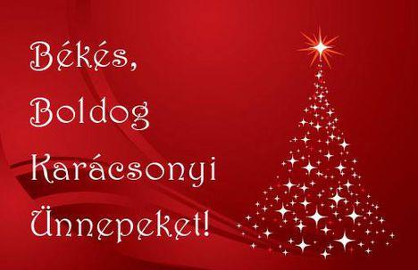 Békés Boldog Karácsonyi Ünnepeket
