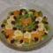 Karácsonyi gyümölcs saláta