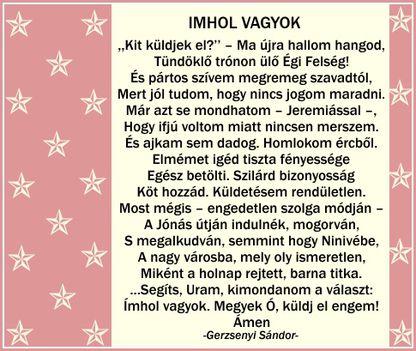 IMHOL VAGYOK