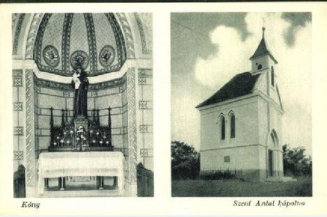 Szent Antal kápolna 1920 körül