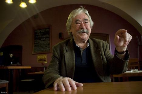 Csukás István, Kossuth-díjas költő, író, a Nemzet Művésze