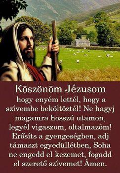 Köszönöm Jézusom