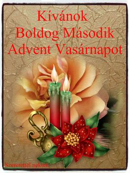 Advent második kíván
