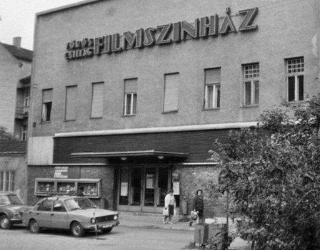 Győr - Vörös Csillag mozi a Dimitrov sétányon