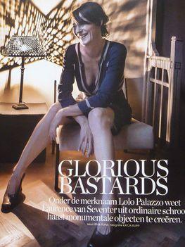 """Hollandiában élek, ... a kerékpározás remek testmozgás is."""" - Laurence van Seventer (Lolo Palazzo)"""